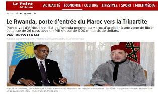 le point afrique rwanda maroc