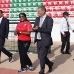 وفد هام من الفيفا يزور المركز الفيدرالي الجهوي لكرة القدم بالسعيدية